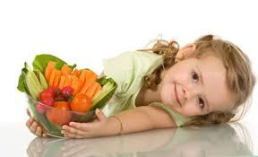 bambini vegetariani