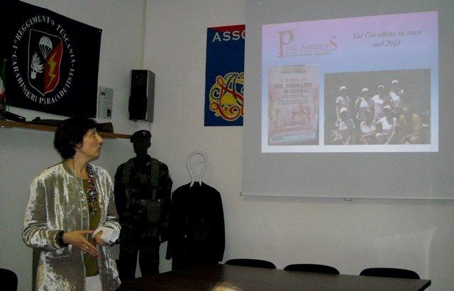 Luisella Nicosia, Presidente di Pink Amazons